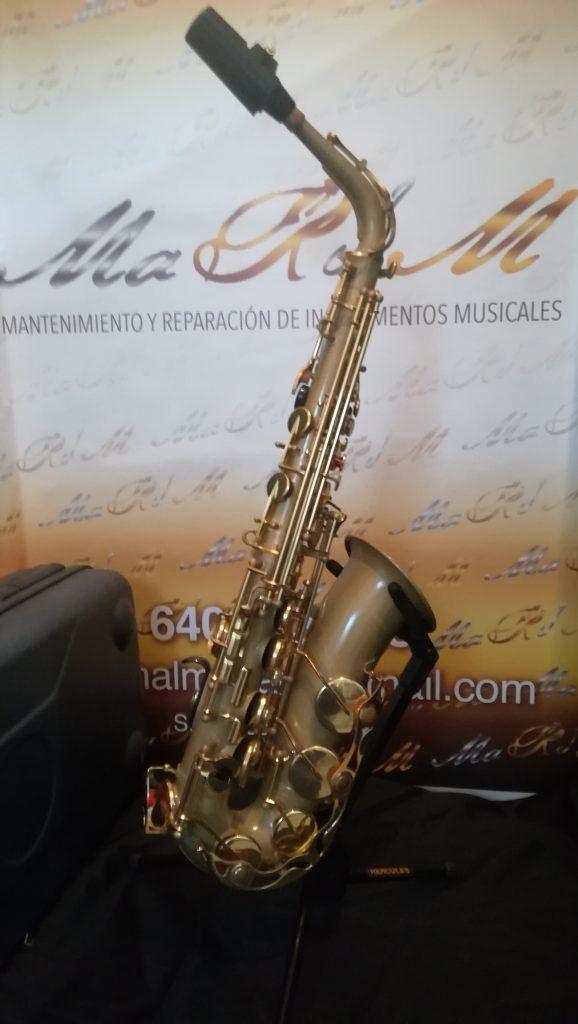 acabado mate saxofon