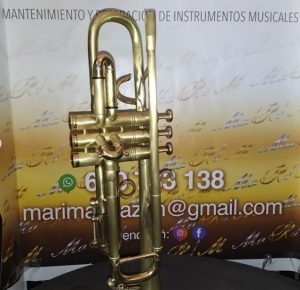 trompeta reparada