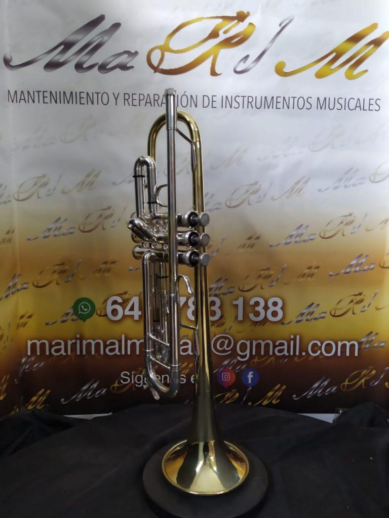 reparacion de trompeta