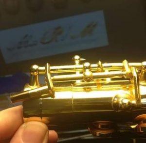 saxofon reparado